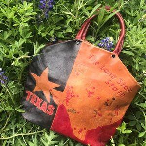 Vintage Texas Leather Handbag